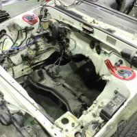 AE86 ワイドフェンダー レストア