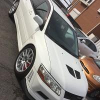 ミツビシ ランサーエボリューション7 GSR 買取車